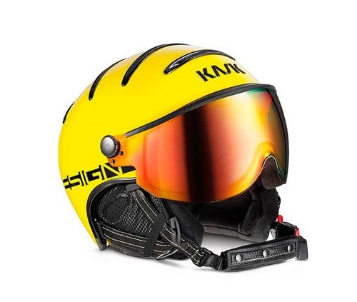 Шлемы KASK ( SHE00033 ) MONTECARLO 2019 60 YELLOW (8057099026123) 1