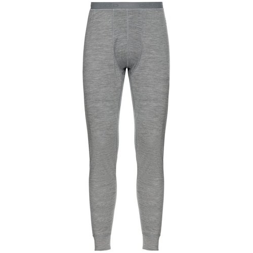 Термоштаны ODLO ( 110832 ) SUW Bottom Pant NATURAL 100% MERINO WARM 2020 grey melange - grey melange-10420 L (7613361337246) 1