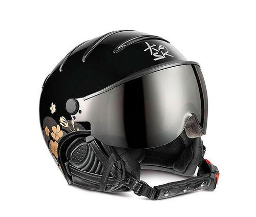 Шлемы KASK ( SHE00049 ) LIFESTYLE LADY JAPANESE FLOWER 2019 black 57 (8057099106559) 1
