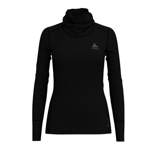 Термофутболка ODLO ( 110861 ) TOP l/s NATURAL 100% MERINO 2019 black - black-15001 L (7613361337567) 1