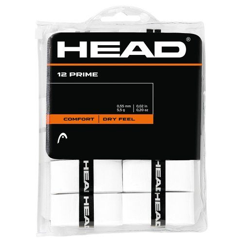 Овергрип HEAD ( 285485 ) Prime 12 pcs Pack 2019 WH (726424264742) 1