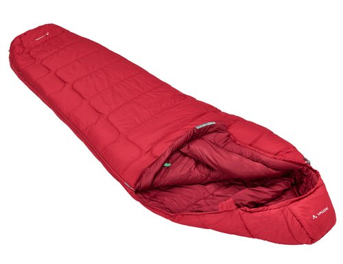 Спальники-коконы VAUDE Sioux 400 S SYN 2019 dark indian red left (4052285181086) 1
