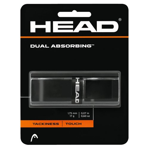 Грип HEAD ( 285034 ) Dual Absorbing Grip, dozen 2019 bk (724794482209) 1