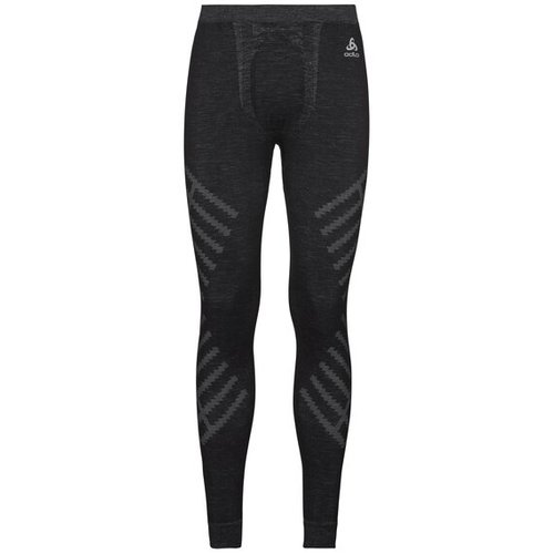 Термоштаны ODLO ( 110722 ) Pant NATURAL + Kinship WARM 2019 black melange L (7613361241246) 1