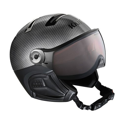 Шлемы KASK ( SHE00059 ) ELITE PHOTO 2021 CARBON/BLACK 57 (8057099144810) 1