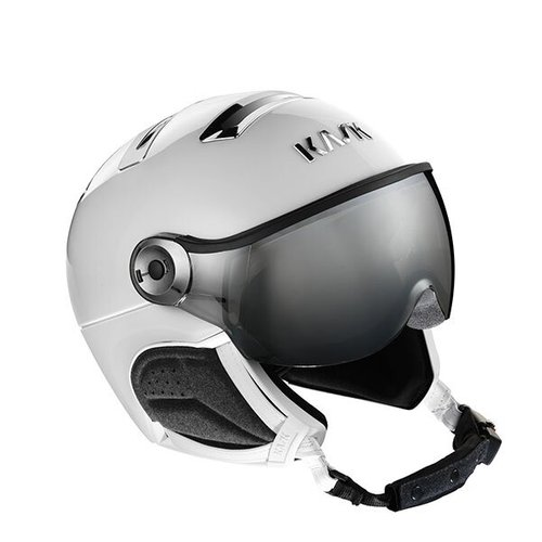 Шлемы KASK ( SHE00060 ) CHROME PHOTO 2021 white/silver 56 (8057099146609) 1