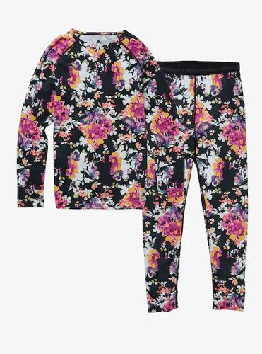 Комплект BURTON ( 132111 ) KIDS 1ST LAYER SET 2020 SECRET GARDEN L (9009521419149) 1