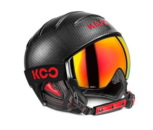 Шлемы KASK Carbon/Black Red