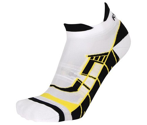 Носки беговые RYWAN (1076) CLIMASOCKS RUNNING'18, 105/white yellow, 35-37