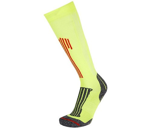 Носки беговые RYWAN (1884) COMPRIM'RUN '18, 104/yellow fluo, 35-37