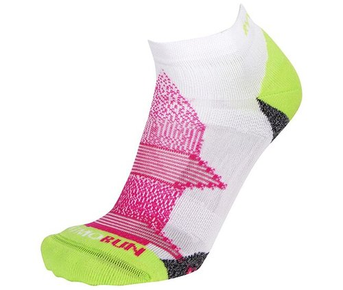 Носки беговые RYWAN (1037) ATMO-RUN CLIMASOCKS'18, 471 pink/green, 35-37