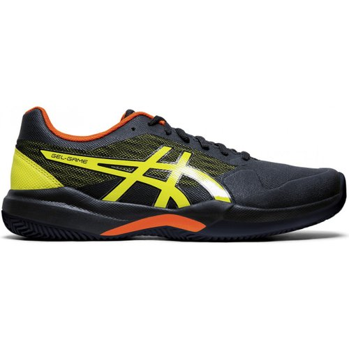 Кроссовки для тенниса Asics ( 1041A046 ) GEL-GAME 7 CLAY/OC 2019/2020 011 BLACK/SOUR YUZU 44 (4550214928837) 1