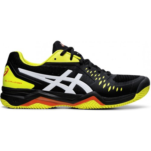Кроссовки для тенниса Asics ( 1041A048 ) GEL-CHALLENGER 12 CLAY 2019/2020 015 BLACK/SOUR YUZU 44 (4550214944967) 1