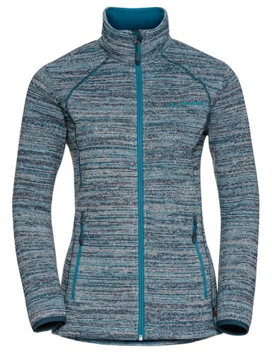 Флис для туризма VAUDE ( 40694 ) Women's Rienza Jacket II 2019, 585 alpine lake, 36